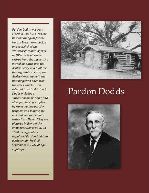 Pardon Dodds biography